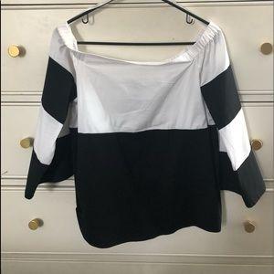 INC off the shoulder blouse